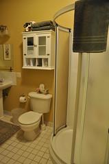 Salle de bain chambre des maitres, au Champayeur.
