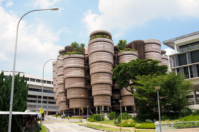 Learning Hub, Nanyang Technological University (NTU) by Heatherwick Studios and CPG Architects