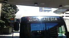 2014 New Flyer Industries XN40 MARTA Bus #1531 On The 21-Memorial Drive at GA State/Capitol Station