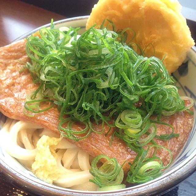 Photo:今日の昼飯 うどん きつね たけのこ By 4563_pic