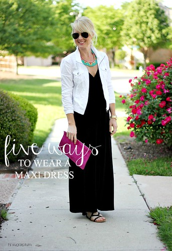 Hi Sugarplum | {5 Ways} to Wear a Maxi Dress
