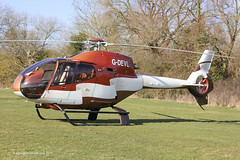 G-DEVL - 2001 build Eurocopter EC120B Colibri, visiting the 2015 Cheltenham Festival