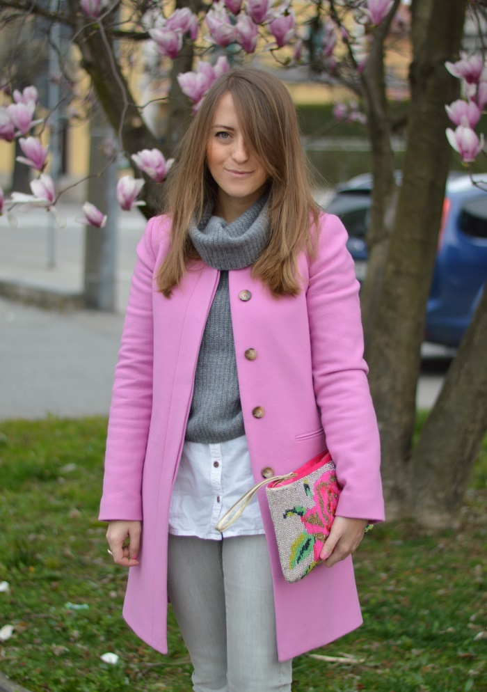 magnolia, wildflower girl, outfit, benetton, rosa (9)