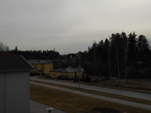 Osittainen auringonpimennys Espoossa 20.3.2015 - Tilanne täydellisimmässä vaiheessa