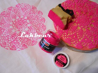 Handmade lace stamped bedclothes