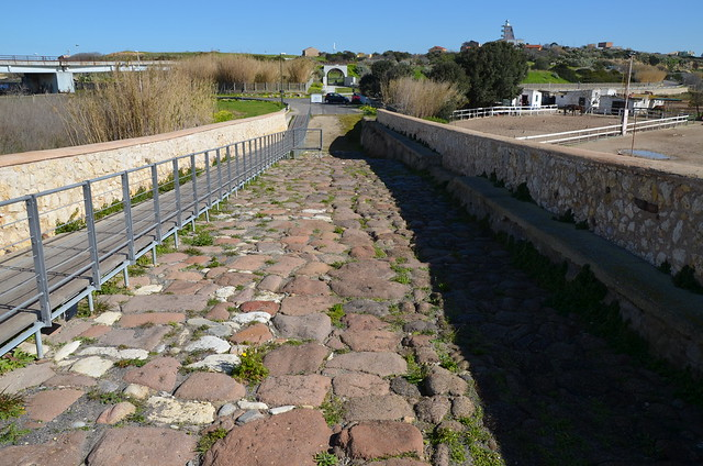 Roman bridge of Turris Libisonis, Porto Torres, Sardinia