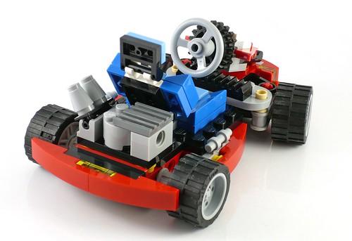 LEGO Creator 31030 Red Go-Kart 06