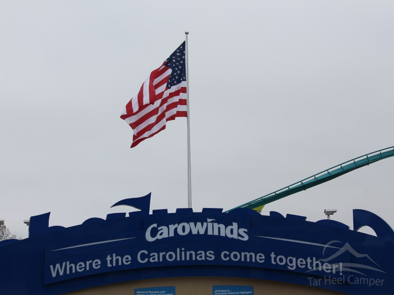 Fury 325 Opening - Carowinds Plaza