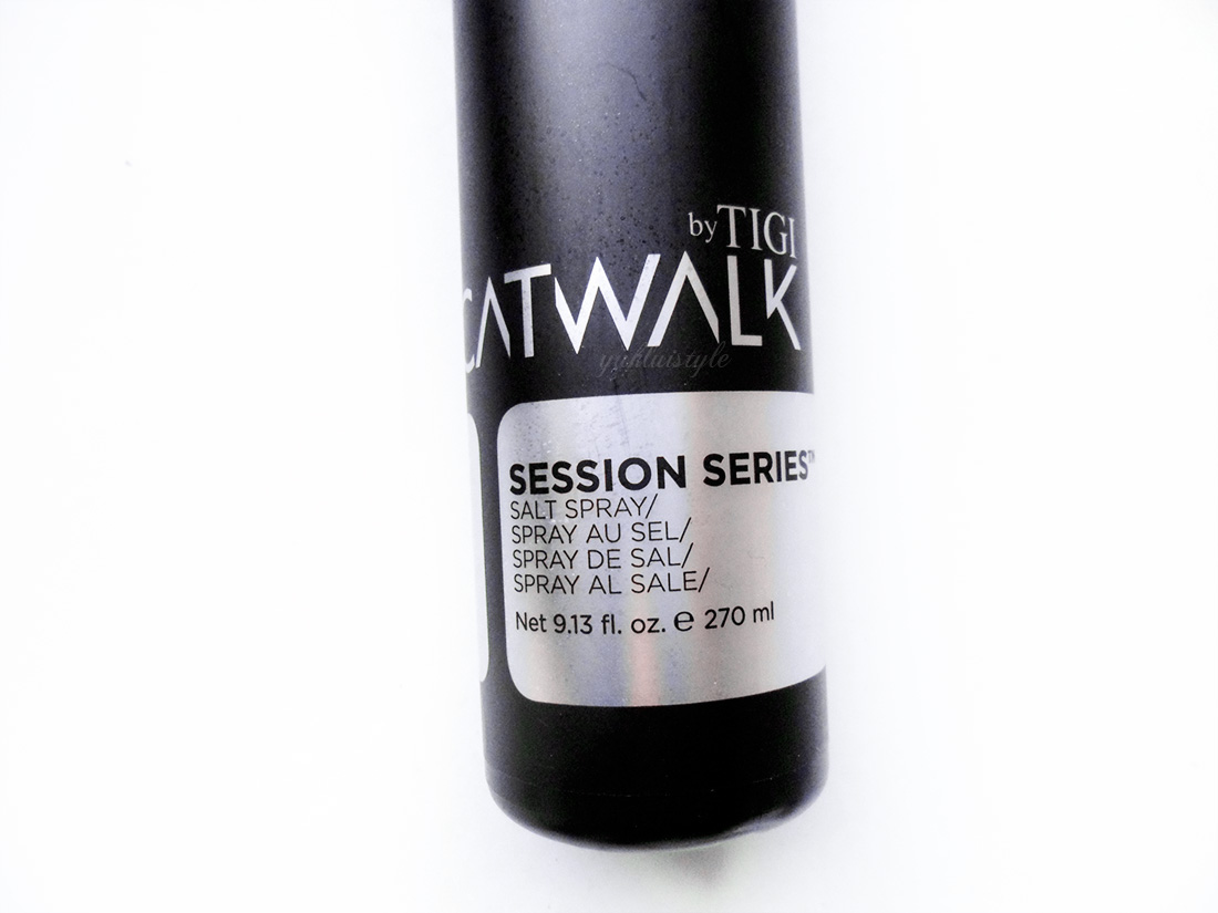TIGI Catwalk Session Series Salt Spray review