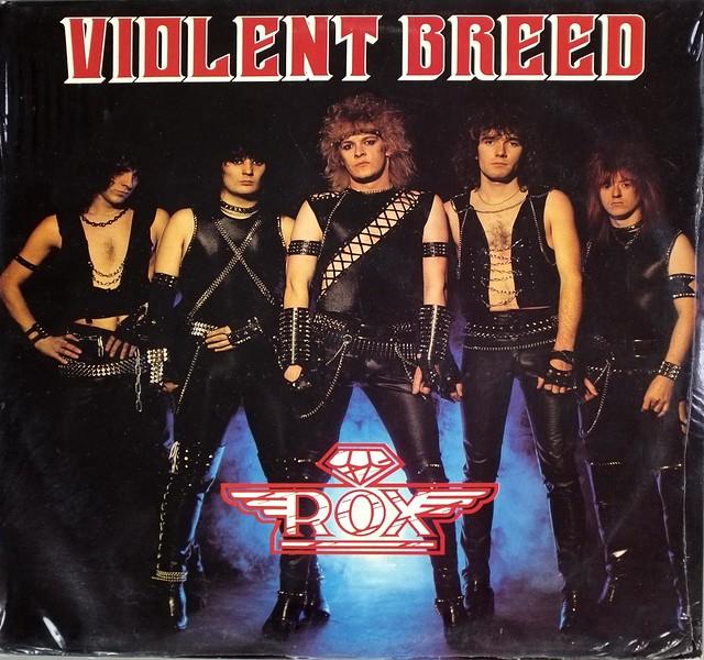 """ROX VIOLENT BREED (SS STILL SEALED) 12"""" LP VINYL"""