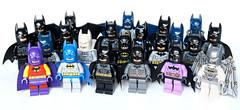 Batman minifigs
