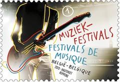 14 Festivals de musique timbre