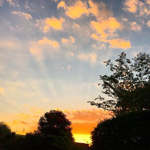 De vários ângulos... #sunset #clubedoceu