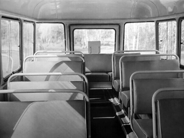 пассажирский салон КАвЗ-658