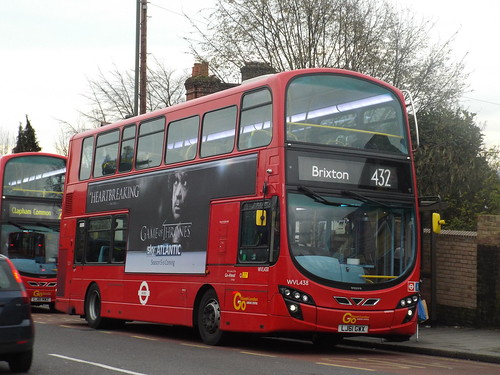 Go-Ahead London General WVL438, LJ61GWX at Crystal Palace on route 432 to Brixton