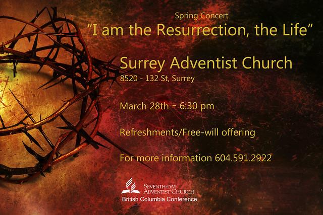 I AM THE RESURRECTION, THE LIFE