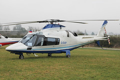 G-DVIP - 2003 build Agusta A109E Power, visiting the 2015 Cheltenham Festival