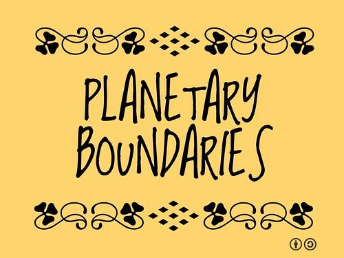 Buzzword Bingo: Planetary Boundaries