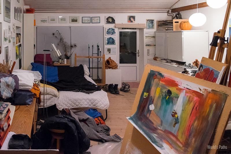 Couchsurfing a Lokken