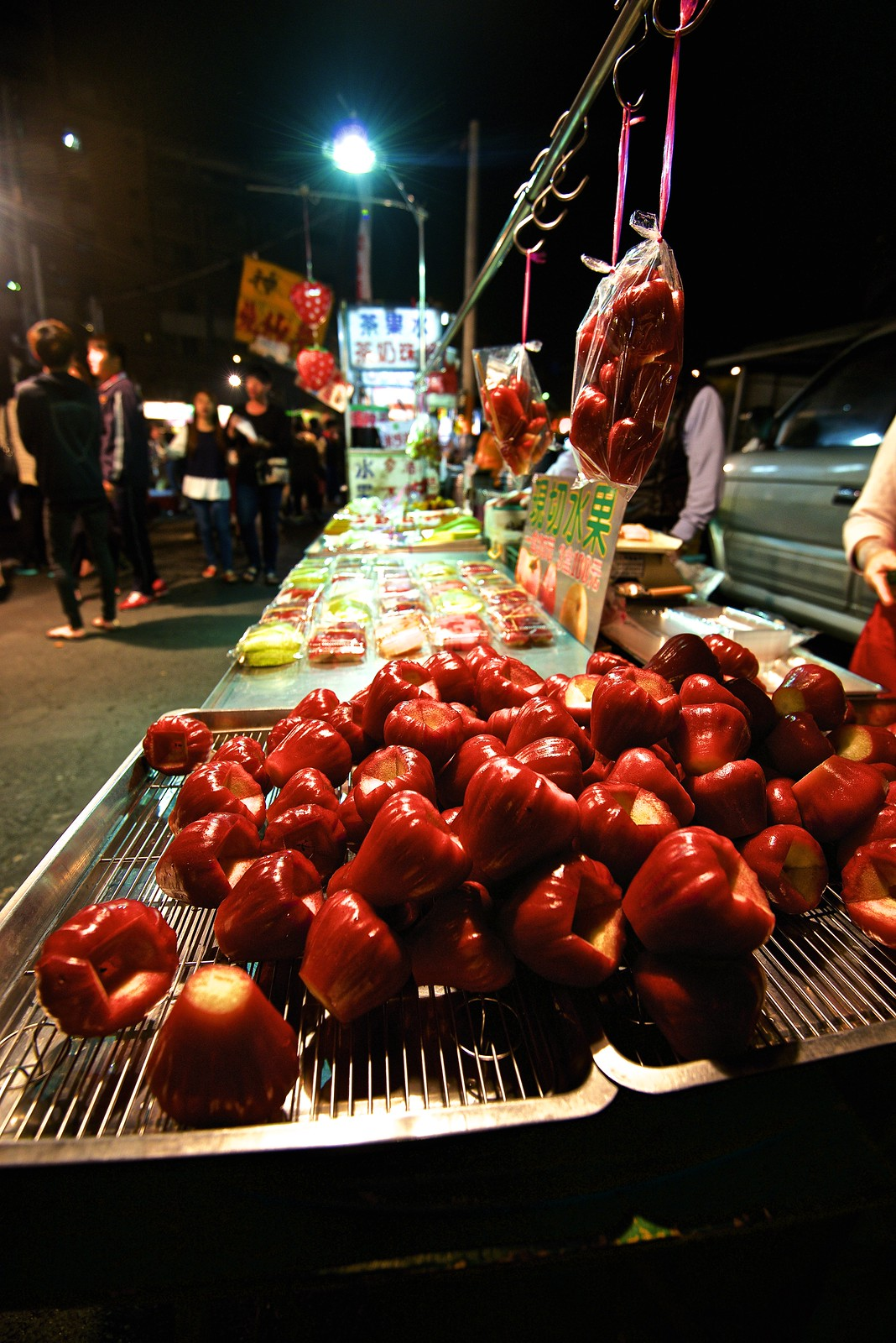 night market in Tsiong