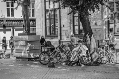 'Street artist playing cello' - Street Photography