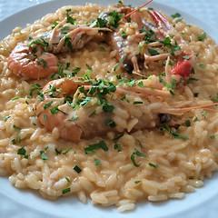 #visioni #pausapranzo #risotto #scampi #food #cibo #noi