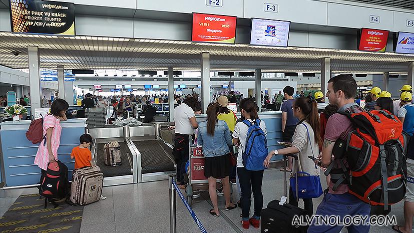 Skipped the queue again at Tan Son Nhat Airport