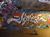 Sterling graffiti, Southbank
