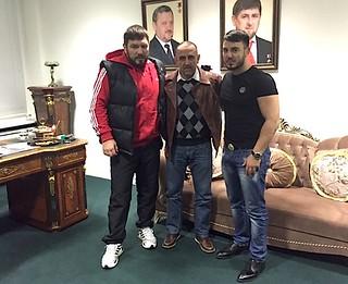 Ruslan Chagaev jetzt mit Trainer Pedro Diaz