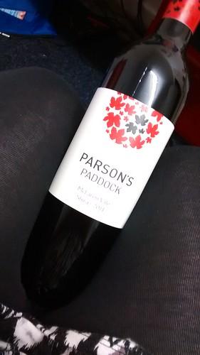 Parson's Paddock Shiraz