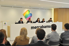 Press conference of Mercabarna grants