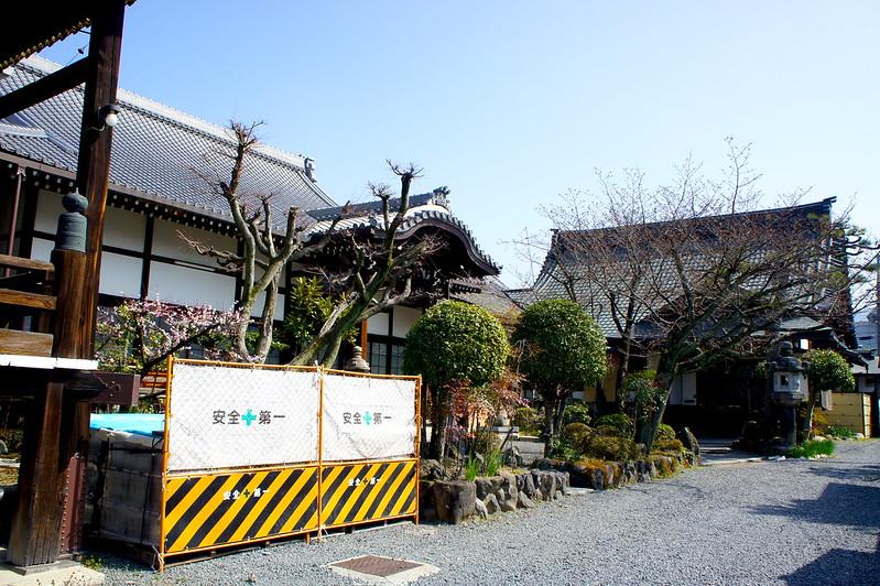 客殿・朱印札所/妙傳寺(Myoden-ji Temple / Kyoto City) 2015/03/17 04808