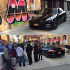 There was a black Porsche parked on the sidewalk in Harlem last night. Right where the new Harlem Standard will be. Not sure why? Did you see this as well?