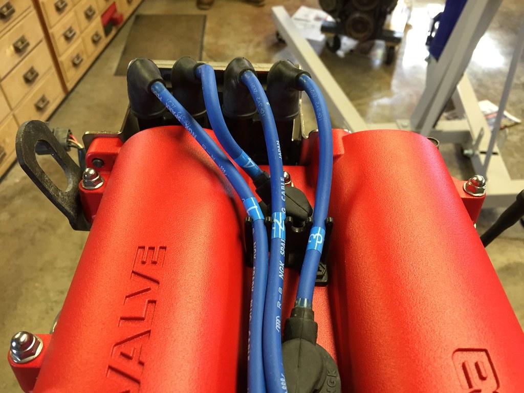 For more sd, add lightness - Page 4 Miata Plug Wires on miata oil pan, miata heads, miata wiring harness, miata crank sensor, miata throttle body, miata radiator, miata starter, miata fuel pump, miata wheels, miata coil on plug,