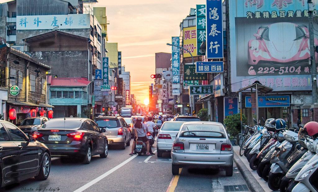下午台南的街道