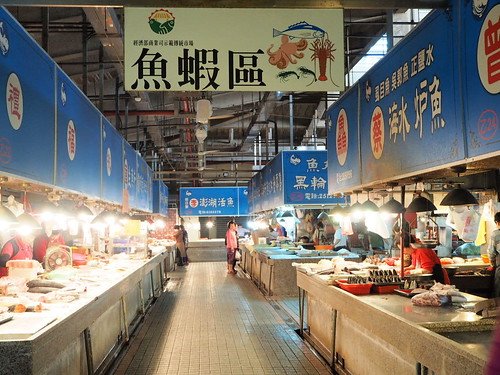 三民第一公有市場の魚売り場