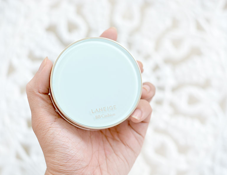 1 Laneige BB Cushion Pore Control Brown Beige Review Swatches - Gen-zel.com (c)