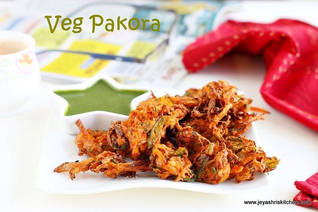 Mixed veg pakora