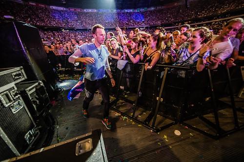 Coldplay Amsterdam ArenA mashup foto - 2016 Coldplay Amsterdam ArenA-7837