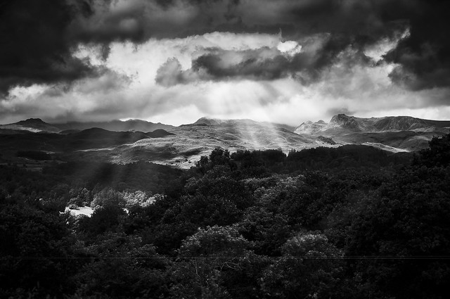 Looking above Ambleside