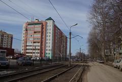 Ryazan tram line to depot