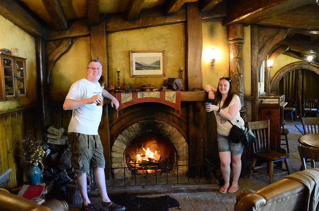 In the Green Dragon, Hobbiton.