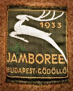 Scout badge world jamboree 1933