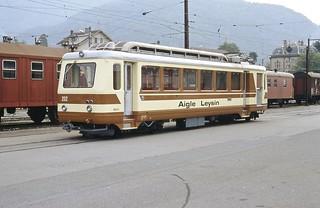 Trains de l'Aigle-Leysin (Suisse)