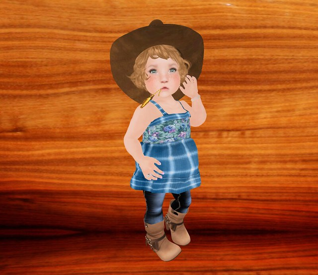 {Lil Big Me} Country Girl Sky Outfit