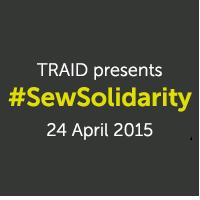TRAID #SewSolidarity Badge