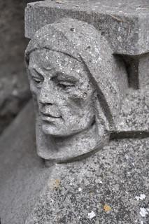 Athletan Abbey - 12th century carved head
