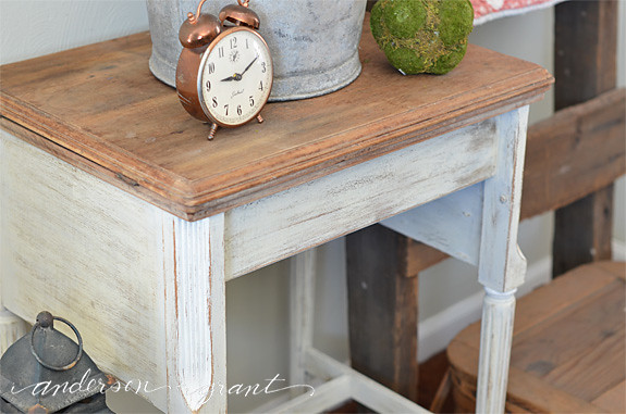 refurbished sewing table