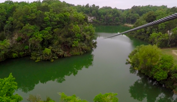 The Canyons Zip Line in Ocala, Florida