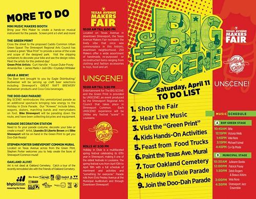 Texas Ave Makers Fair / Big Scene Guide to downtown Shreveport, Sat, Ap 11